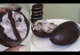Cookie and Cream Easter Eggs